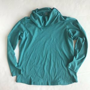 L.L. Bean Misses long-sleeve shirt -Teal